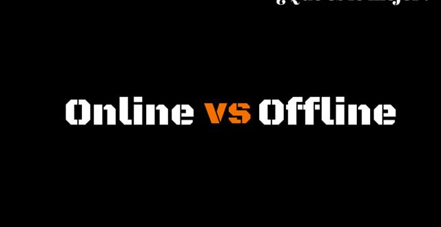 Emprender Online y Offline ¿Qué es lo mejor?