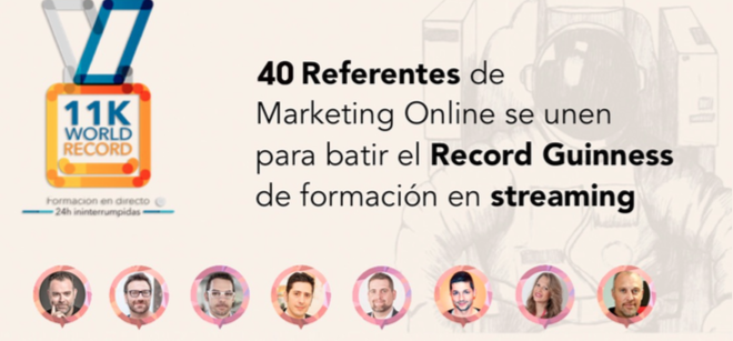 Objetivo de estudio de los profesionales del marketing online