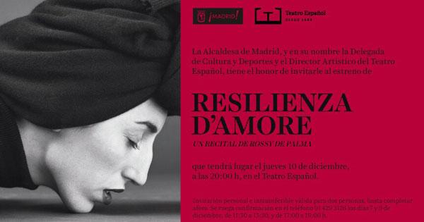 Emprendedoras con Alma: Rossy de Palma se reinventa con Resilienza d'Amore