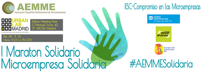 "I Maratón Solidario ""Microempresa Solidaria"""