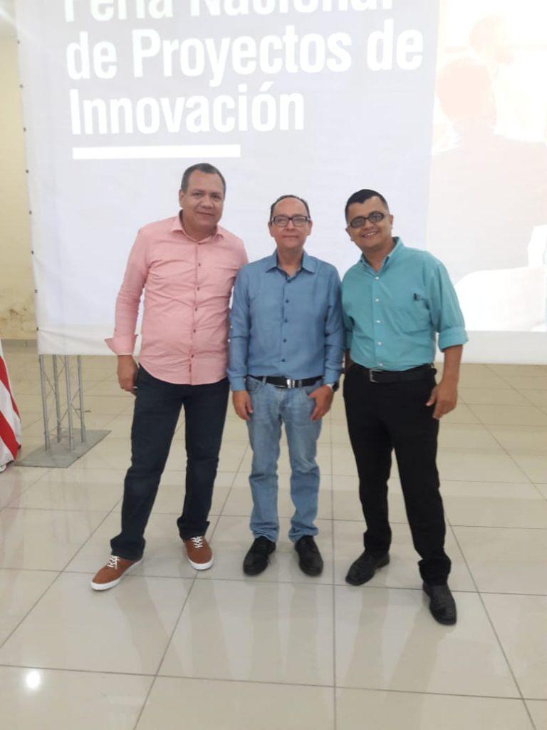 Foto del jurado de la feria de proyectos de innovación 2019