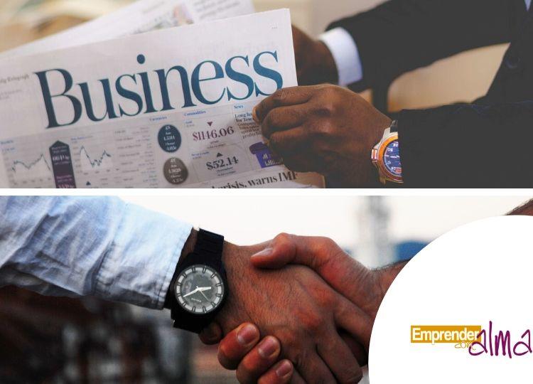 Hombres destacados como negociadores